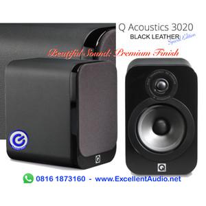 Harga q acoustics 3020 black leather pasif bookshelf | HARGALOKA.COM