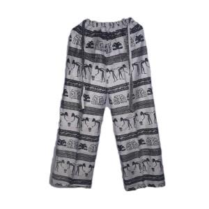 Harga celana kulot wanita dewasa motif etnic joger santai   | HARGALOKA.COM