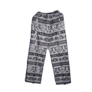 Harga celana kulot wanita dewasa motif etnic suku asma batik jogja   | HARGALOKA.COM