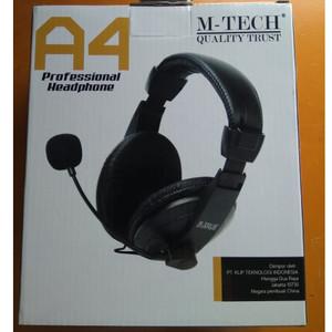 Harga headset gaming mtech a4 jack 3 5mm murah   HARGALOKA.COM