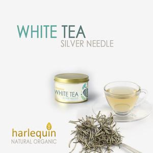 Harga white tea silver needle harlequin   teh putih premium | HARGALOKA.COM