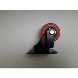 Harga Roda Pu Merah Double Bearing Medium Duty Caster Taiwan Plat 4 34 Hidup Katalog.or.id