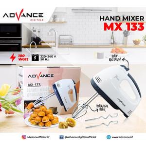 Harga advance mx 133 hand mixer pengaduk adonan kue roti 7 speed | HARGALOKA.COM