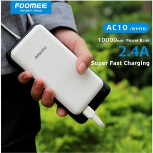 Harga powerbank 10000mah foomee ac10 original garansi resmi   | HARGALOKA.COM
