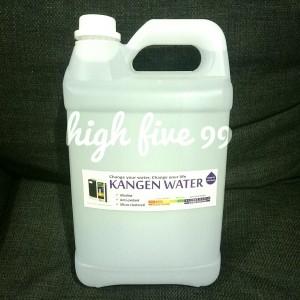 Harga kangen water air alkali jerigen 5 liter kirim via gojek grab saja | HARGALOKA.COM