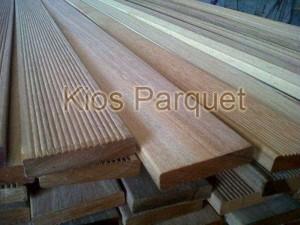 Harga lantai decking kayu bengkirai uk 1 9x9x100up cm per meter | HARGALOKA.COM