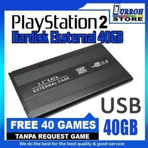 Harga hardisk eksternal game playstation 2 ps 2 full game   40 gb tanpa mc | HARGALOKA.COM