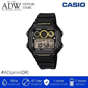 Harga jam tangan pria casio illuminator digital sport watch | HARGALOKA.COM