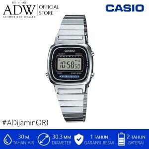 Harga jam tangan wanita casio digital stainless steel watch | HARGALOKA.COM