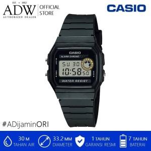 Harga jam tangan pria casio vintage black digital watch | HARGALOKA.COM