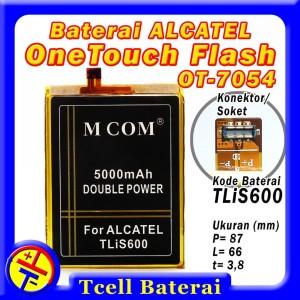 Harga baterai alcatel onetouch flash plus ot 7054 tlis600 mcom one   HARGALOKA.COM