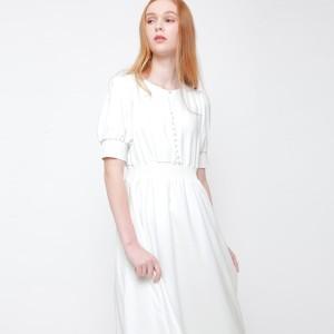 Harga chocochips   logan dress white   putih | HARGALOKA.COM
