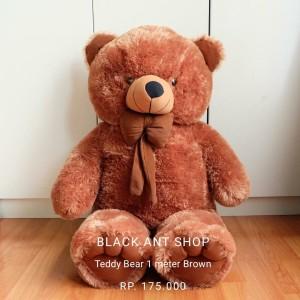 Harga boneka beruang 1 meter jumbo murah premium   | HARGALOKA.COM