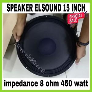 Harga speaker elsound 15 inch full range | HARGALOKA.COM