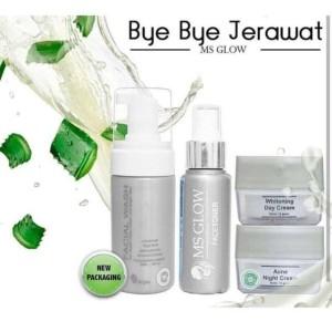 Harga ms glow paket acne untuk kulit sensitif dan | HARGALOKA.COM