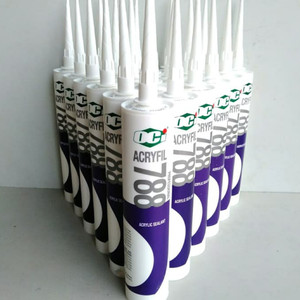 Harga lem sealant oci acrylic 788 paintable acrylic sealant 450 gr   white   | HARGALOKA.COM