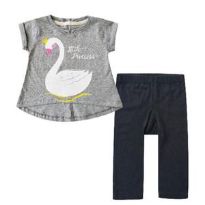 Harga bearhug setelan bayi perempuan angsa abu xud 6 18 bulan   3 6 | HARGALOKA.COM