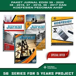 Harga paket jurnal bahan bangunan 5 series dan koefesien pedoman   HARGALOKA.COM
