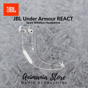 Harga jbl under armour react white putih   waterproof sport | HARGALOKA.COM