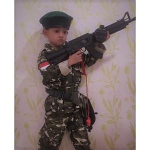 Harga baju tentara kostrad anak kostum profesi tentara kostrad loreng tni   | HARGALOKA.COM