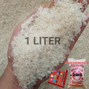 Harga beras perak pera padang cap mercy super quality 1 liter | HARGALOKA.COM