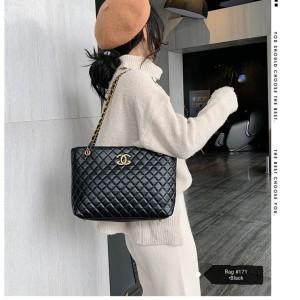 Harga tas wanita hits motif simple   | HARGALOKA.COM