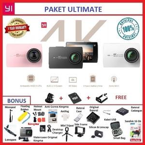 Harga paket ultimate 26 in 1 xiaomi yi 2 4k internasional action camera     HARGALOKA.COM