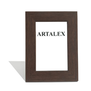 Harga bingkai foto frame pigura 4r coklat motif kayu   | HARGALOKA.COM