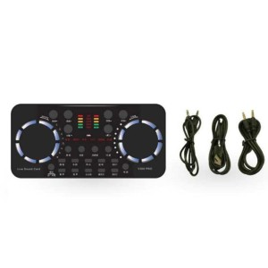 Harga soundcard v300 pro audio bluetooth usb external soundcard | HARGALOKA.COM
