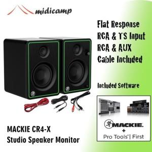 Harga speaker monitor flat recording rekaman mackie cr4 x cr4x | HARGALOKA.COM