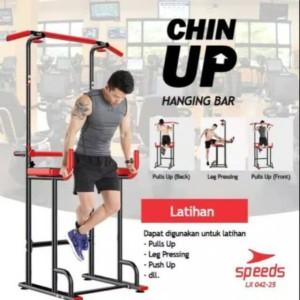 Harga pull up stand chin up pull up bar alat fitness untuk di rumah speeds | HARGALOKA.COM
