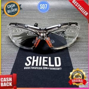 Harga kacamata safety apd kaca mata anti droplets   HARGALOKA.COM