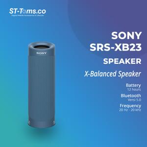 Harga sony srs xb23 srs xb23 extra bass portable bluetooth speaker   | HARGALOKA.COM