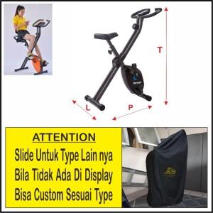 Harga sepeda statis   cover pelindung sepeda statis   hitam type | HARGALOKA.COM