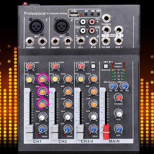 Harga mixer karaoke home theater avr amplifier 4 channel usb | HARGALOKA.COM