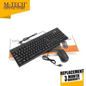Harga m tech keyboard mouse usb | HARGALOKA.COM