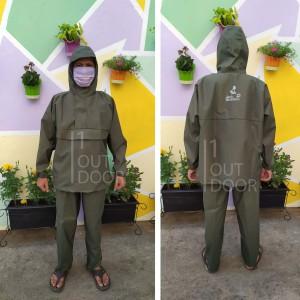 Harga jas hujan setelan jaket celana raincoat jack wolfskin   | HARGALOKA.COM