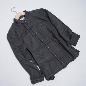 Harga 094 kemeja flannel pria biasa reguler lengan panjang kualitas premium   | HARGALOKA.COM