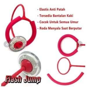 Harga mainan olahraga anak dewasa lompat dance circle flash jump   | HARGALOKA.COM