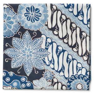 Harga kain batik tulis warna alam motif parang kawung kontemporer   | HARGALOKA.COM