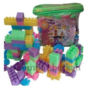 Harga mainan block lego besar 3cm isi 126 pcs bongkar | HARGALOKA.COM