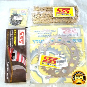 Harga gear set sss yamaha r15 vva gearset r15 led girset r15 v3 | HARGALOKA.COM