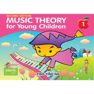 Harga music theory for young children   book 1 2nd edition | HARGALOKA.COM