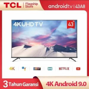 Harga led tv tcl 43a8 android 4k smart tv khusus bandung | HARGALOKA.COM