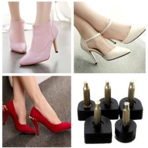 Harga heel tip high heels pengganti ujung hak sepatu wanita   apricot 9 | HARGALOKA.COM