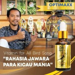 Harga optimaxx vitamin tetes burung kicau lovebird murai batu kacer | HARGALOKA.COM