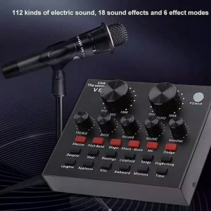 Harga sound card v8 mixer soundcard v8 mixer audio usb external | HARGALOKA.COM