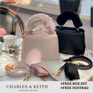 Harga tas wanita charles and keith original cnk box   | HARGALOKA.COM