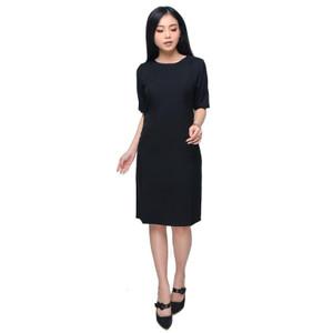 Harga dress formal kerja kantor lengan sleeve selutut   premium   s | HARGALOKA.COM