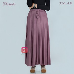Harga rok plisket payung jumbo wanita casual muslimah syari hijabers import   | HARGALOKA.COM
